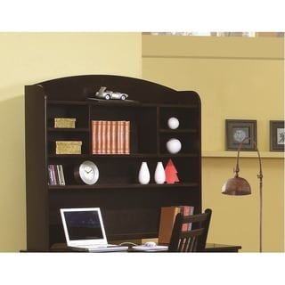 Coaster Company Phoenix Brown Hutch Desk