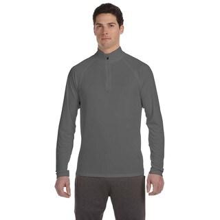 Quarter-Zip Men's Lightweight Pullover Sport Graphite Sweater