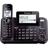 Panasonic KX-TG9541B Link2Cell 2-Line Bluetooth Cordless Phone + Answering Machine and Handset