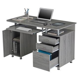 Office workstation desk Person Office Modern Designs Grey Mdf Multifunctional Office Desk With File Cabinet Overstockcom Buy Workstation Desks Online At Overstockcom Our Best Home Office