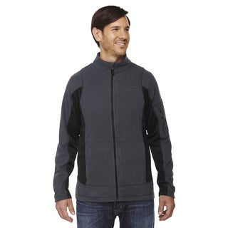 Generate Textured Fleece Men's Big and Tall Carbon 456 Jacket