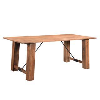 Timbergirl Angled Acacia wood Dining Table