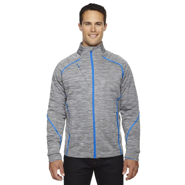 Flux Melange Bonded Fleece Men's Platinum 837 Jacket