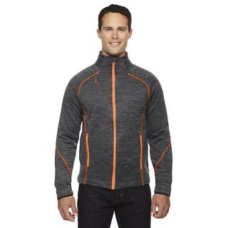 Flux Melange Bonded Fleece Men's Big and Tall Carbon/Or Soda 482 Jacket