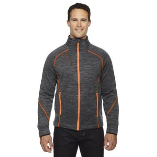 Flux Melange Bonded Fleece Men's Big and Tall Carbon/Or Soda 482 Jacket (2 options available)