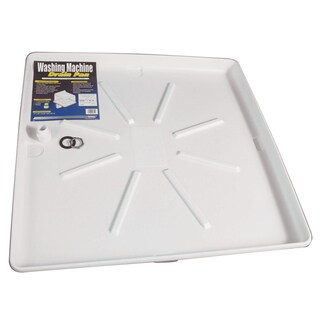 Camco 20752 30 X 32 White Washing Machine Pan
