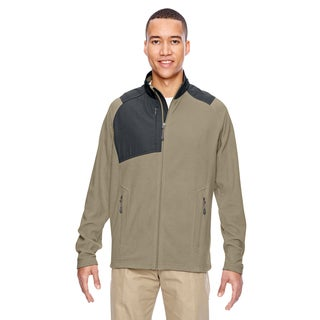 Excursion Trail Fabric-Block Fleece Men's Big and Tall Stone 019 Jacket