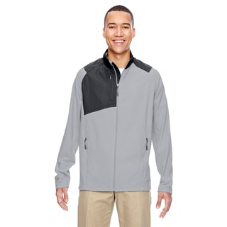 Excursion Trail Fabric-Block Fleece Men's Big and Tall Silver 674 Jacket