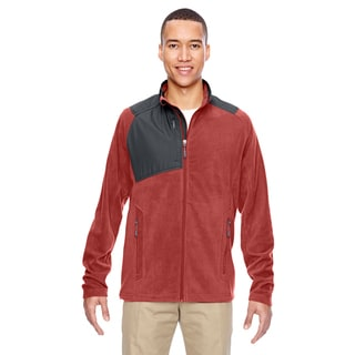 Excursion Trail Fabric-Block Fleece Men's Big and Tall Rust 489 Jacket