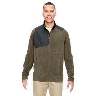 Excursion Trail Fabric-Block Fleece Men's Big and Tall Dark Oakmoss 487 Jacket