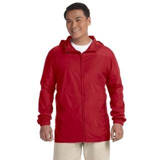 Essential Men's Big and Tall Red Rainwear