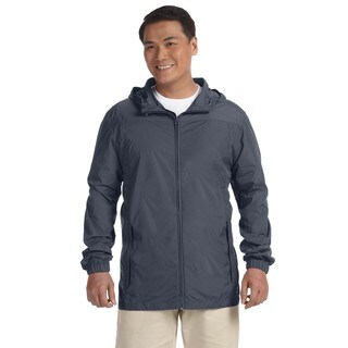 Essential Men's Big and Tall Graphite Rainwear