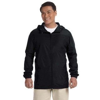 Essential Men's Big and Tall Black Rainwear