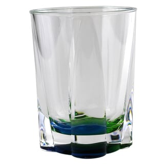 Merritt International 22145 Peacock Crystal Tumbler