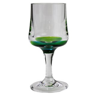 Merritt International 22148 Peacock Wine Glass