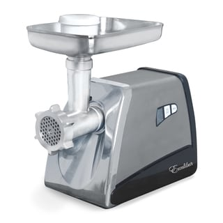 Excalibur Grey/Silver Metal Electric Household Meat Grinder