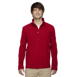 Cruise Two-Layer Fleece Bonded Soft Shell Men's Big and Tall Classic Red 850 Jacket