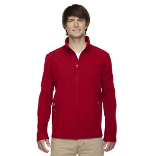 Cruise Two-Layer Fleece Bonded Soft Shell Men's Big and Tall Classic Red 850 Jacket (4 options available)