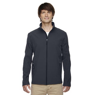 Cruise Two-Layer Fleece Bonded Soft Shell Men's Big and Tall Carbon 456 Jacket (4 options available)