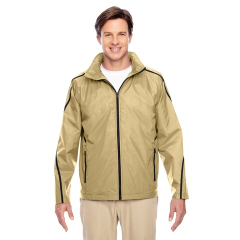 Conquest Men's Big and Tall Sport Vegas Gold Jacket with Fleece Lining