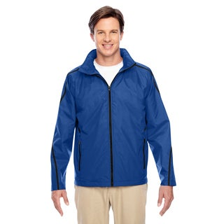 Conquest Men's Big and Tall Sport Royal Jacket with Fleece Lining