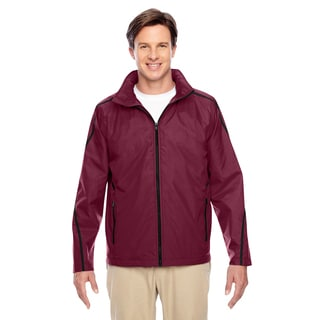Conquest Men's Big and Tall Sport Maroon Jacket with Fleece Lining
