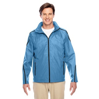 Conquest Men's Big and Tall Sport Light Blue Jacket with Fleece Lining