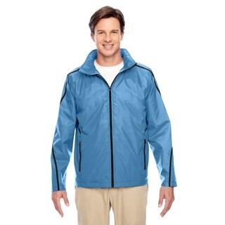 Conquest Men's Sport Light Blue Jacket with Fleece Lining