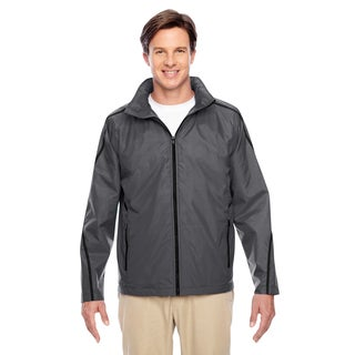 Conquest Men's Big and Tall Sport Graphite Jacket with Fleece Lining