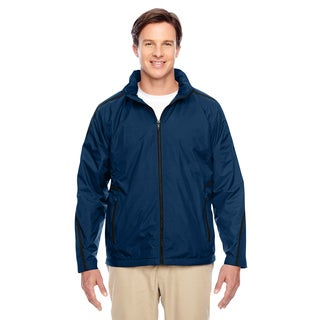 Conquest Men's Big and Tall Sport Dark Navy Jacket with Fleece Lining