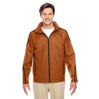 Conquest Men's Big and Tall Sp Burnt Orange Jacket with Fleece Lining