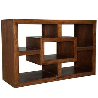 Hand-stained Solid Mango Wood Wide-display TV Cabinet