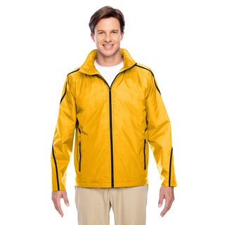 Conquest Men's Sp Athletic Gold Jacket with Fleece Lining