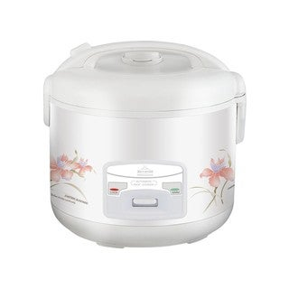 Wee Deluxe White 10-cup Electric Rice Cooker