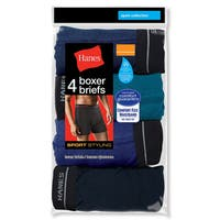 Big Sport Men's Styling Boxer Brief Assorted Boxer Brief