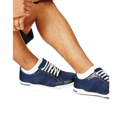 Men's White 10-13 Low-cut Socks (Pack of 12)