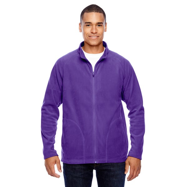 Campus Microfleece Mens Sport Purple Jacket