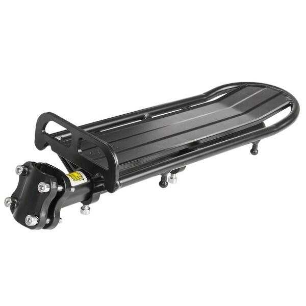 Hollandia Black Aluminum Rear Rack With Seatpost Attachment