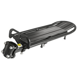 Hollandia Black Aluminum Rear Rack With Seatpost Attachment