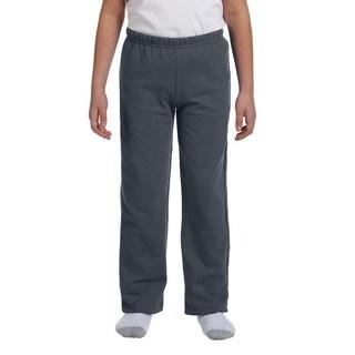 Boy's Charcoal Grey Polyester Heavy-blend Open-bottom Sweatpants|https://ak1.ostkcdn.com/images/products/12556823/P19357445.jpg?_ostk_perf_=percv&impolicy=medium