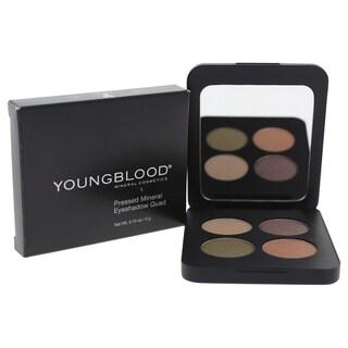 Youngblood Pressed Mineral Eyeshadow Quad Gemstone