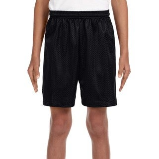 Link to Boy's Black Mesh Tricot-lined 6-inch Shorts Similar Items in Boys' Clothing