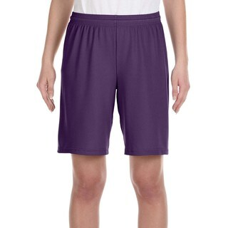 Alo Sport For Team 365 Youth Purple Mesh 9-inch Short Sport