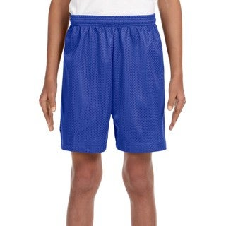 Link to Youth Royal Blue Mesh Tricot-lined 6-inch Shorts Similar Items in Boys' Clothing