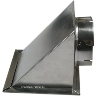 Builders Best 010166 Aluminum Dryer Eave Vent