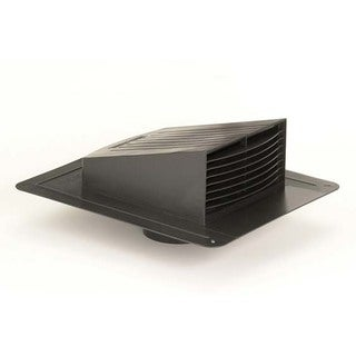 "Dundas Jafine RL6P 6"" Black Roof Exhaust"