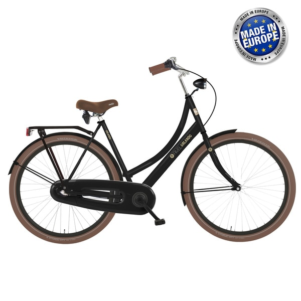 Rivel Orlando Nexus 3 Women's Black European Cruiser Bicycle