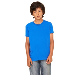 Youth True Royal Blue Jersey Short-sleeve T-shirt