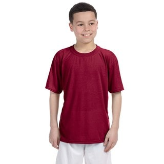 Youth Cardinal Red Performance T-shirt