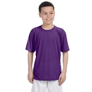 Gildan Youth Purple Performance T-shirt
